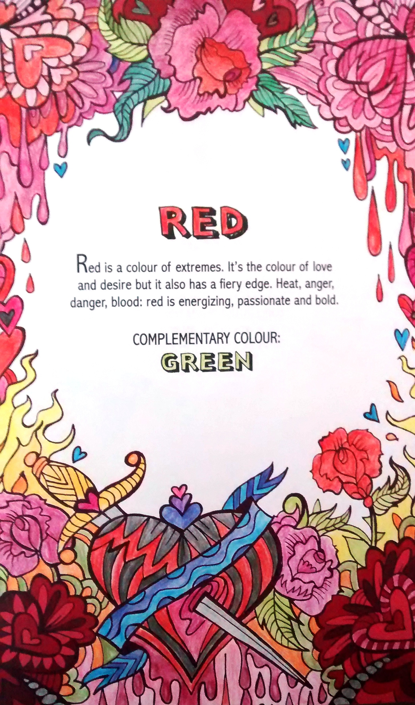Childrens Book Review Tour Color Therapy An Anti Stress Coloring